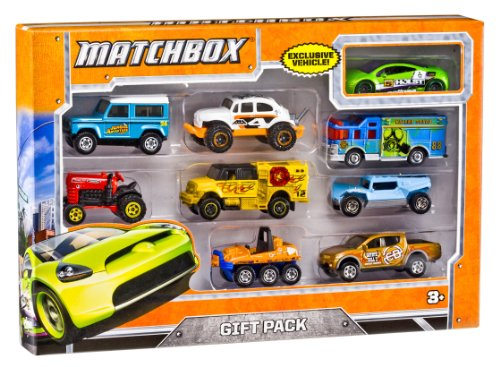 Matchbox X7111 9 Car Gift Pack Styles May Vary New Free Ship