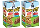 Quaker Chewy Granola Bars and Dipps Variety Pack, 2 Boxes (58 Bars)