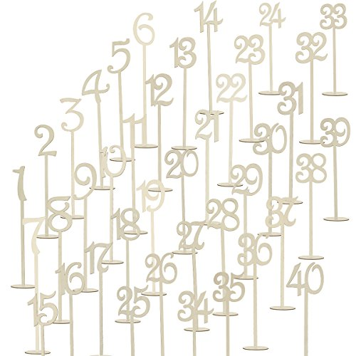 Tinksky Numbers Wedding Anniversary Decoration