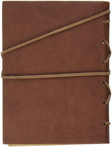 OliaDesign Diary String Key Leather Bound Notebook, Brown