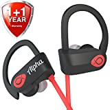 Wireless headphones - UPGRADED 2018 - Sport headphones - Workout headphones - Best wireless earbuds - Running headphones - Waterproof Headphones - IPX7 - w Mic Noise Cancelling - for Women Men