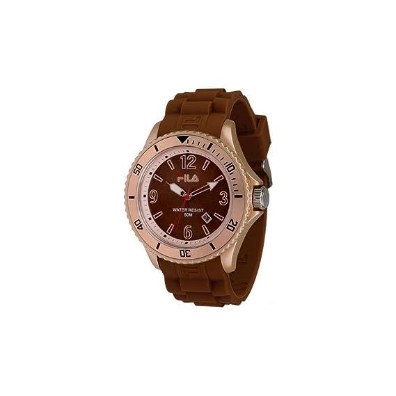 Fila Reloj analogico para Hombre de Cuarzo con Correa en Caucho FA-1023-48
