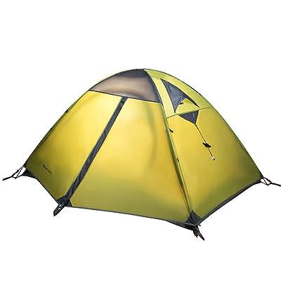équipement extérieur résistant aux intempéries extérieur d'alpinisme Tente de camping double superposé Quarters Pole