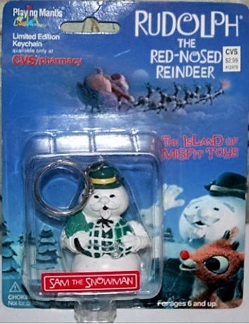 Rudolph and The Island Of Misfit Toys Limited Edition Keychain - Sam the Snowman