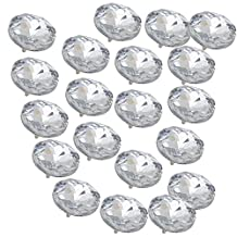 Sofa Headboard Upholstery Crystal Buttons 25mm diameter Pack of 20