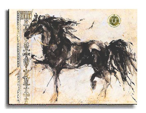 Artistic Home Gallery 3040AM310SS Lepa Zena by Marta Gottfried Premium Stretched Canvas (Ready to Hang) from Artistic Home Gallery