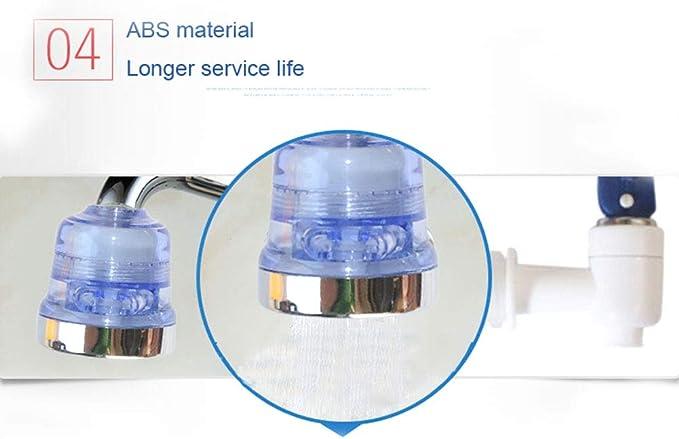 Tapón de grifo purificador de agua filtro cabeza Tapa ...