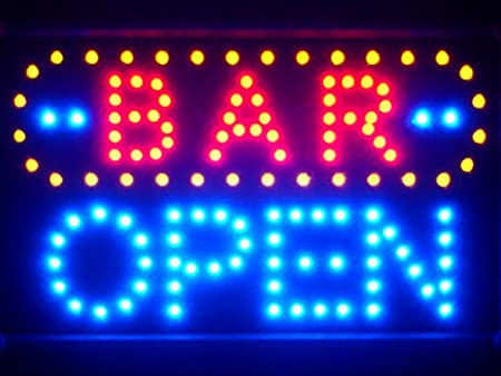 Grill LED Sign 11 x 27
