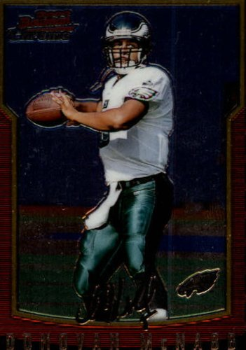 2000 Bowman Chrome Football Card #109 Donovan McNabb