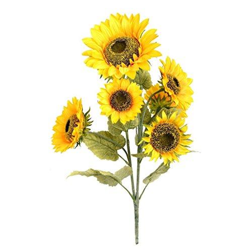 Vickerman FA187301 Yellow Sunflower Floral -