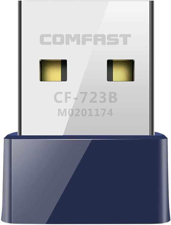 Docooler COMFAST Routers BT4.0 Adaptador inalámbrico USB WiFi Tarjeta 150Mbps Receptor Transmisor Tarjeta de Red