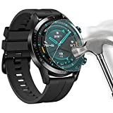 Shan-S [5-Pack for Huawei Watch GT2 46mm Screen Protector, Explosion-Proof TPU Scratch Resistance Full Cover Clear Screen Protector Film for Huawei Watch GT2 46mm Smartwatch