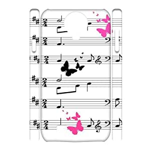 MUSICAL Custom 3D Case for SamSung Galaxy S4 I9500,personalized MUSICAL Phone Case