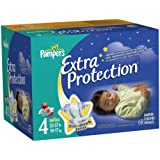 Pampers Extra Protection Size 4 Diapers Big Pack 68 Count