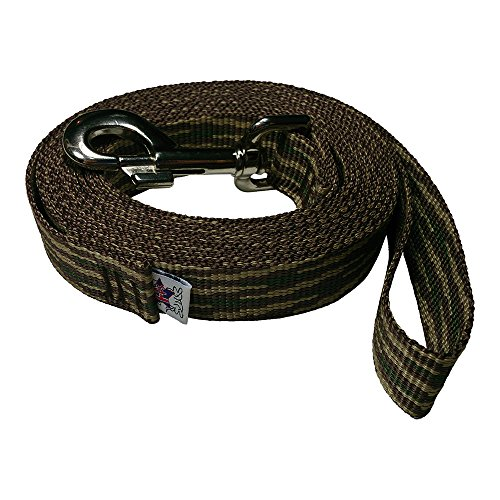 Polypropylene Pet Leash (Freedom Pet 1 inch Polypropylene Dog Leash FPS-PP50 Select Your Length and Color (Woodland Camouflage, 5 FT))