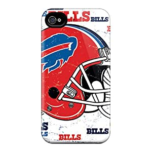Premium Durable Buffalo Bills Fashion Tpu Iphone 4/4s Protective Case Cover