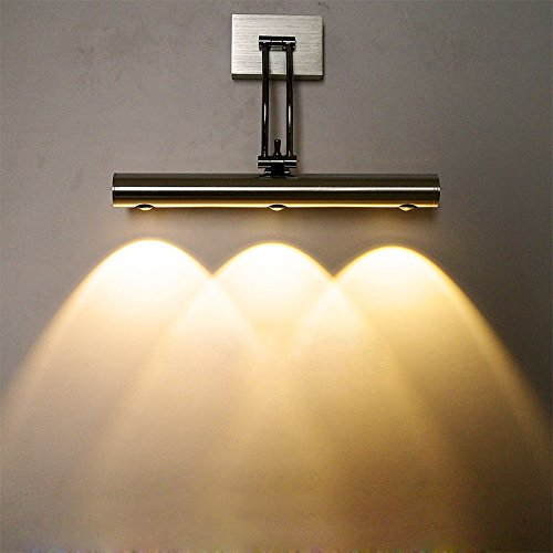 Wall Lamps Uae : LUMINTURS 3W Dimmable LED Wall Sconce Picture Mirror Light Fixture Modern La... in the UAE ...