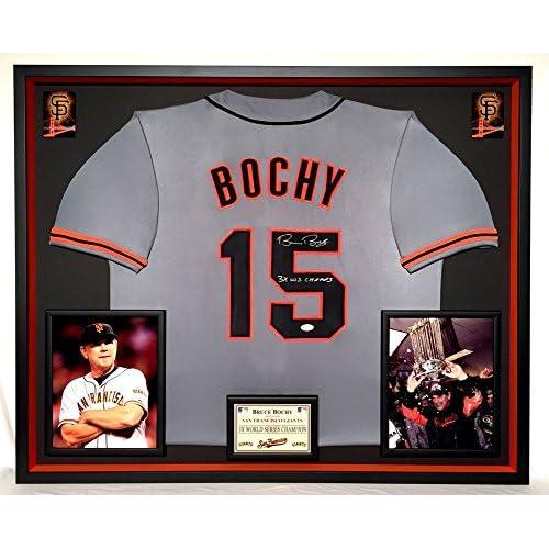 wholesale dealer 662ab e9df2 Premium Framed Bruce Bochy Autographed San Francisco Giants ...