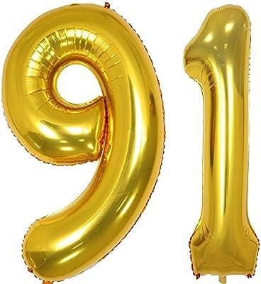 Globos de helio de 40 pulgadas con números digitales ...