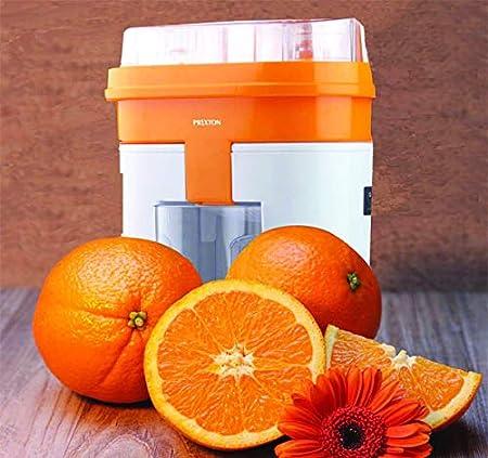 PRIXTON Exprimidor de Naranjas Eléctrico con Doble Cabezal: Amazon.es: Hogar