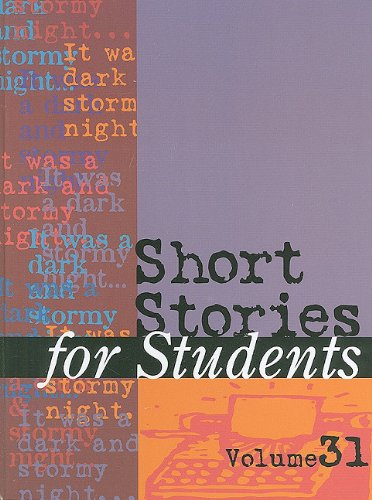 Download Short Stories for Students: Presenting Analysis, Context & Criticism on Commonly Studied Short Stories PDF