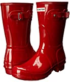 Hunter Womens Original Short Gloss Military Red Rain Boot - 9 | amazon.com