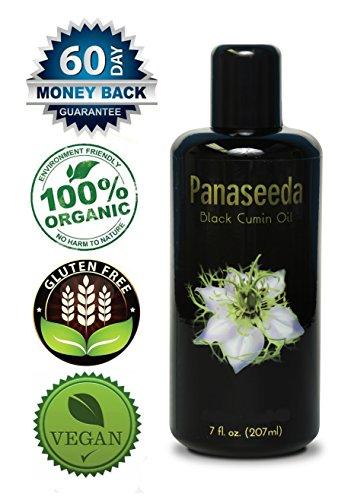 Black Cumin Seed Oil, 200 ml, Vegan, Organic, Pure Nigella Sativa. Digestive Support, Immune System Booster, Loaded with Vitamins b1 b2 b3