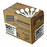 "Dixie - Plastic Cutlery Heavyweight Soup Spoons White 1000/Carton ""Product Category: Breakroom And Janitorial/Food Service Supplies"""