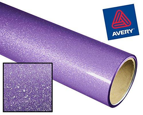 (Avery High Gloss Metallic Glitter Vinyl Adhesive Vinyl 12