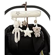 SL&F Baby Stroller Toy, Newborn Baby Car Crib Cot Pram Hanging Built-in Music with Rattle