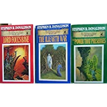 The Chronicles of Thomas Covenant The Unbeliever Series (3 Vol. Set; Lord Foul's Bane; The Illearth War; the Power That Preserves)