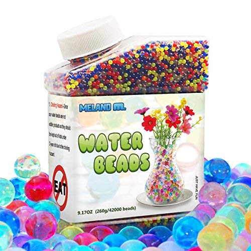 Meland Water Beads (30,000 beads), 8.8oz