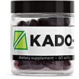 Nootrobox KADO-3 - Krill & Fish Oil DHA/EPA Omega-3 Blend, Vitamins D & K, and Astaxanthin Nootropic Stack + Peppermint Aftertaste (60 Count Soft Gels)