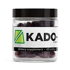 Nootrobox KADO-3 - Krill & Fish Oil DHA/EPA Omega-3 Blend, Vitamins D & K, and Astaxanthin Nootropic Stack (60 Count Soft Gels)