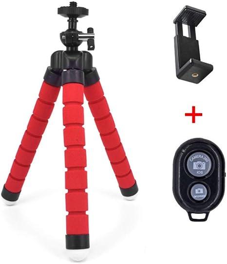 AAERP Octopus - Trípode para móvil, Flexible, Mini cámara, trípode ...