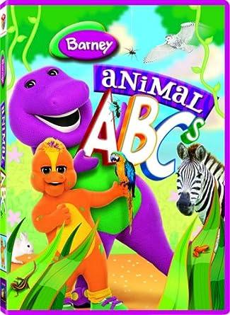 Amazoncom Barney Animal Abcs Barney Movies Tv