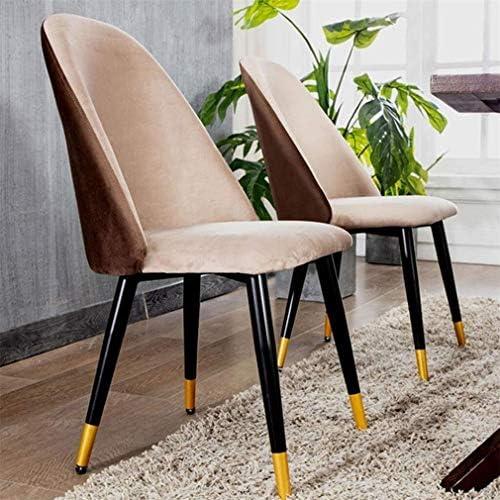 Chaise art à manger tissu rétro chaise longue dossier confortable chaise de maquillage sellerie velours, for les restaurants salon chaise café