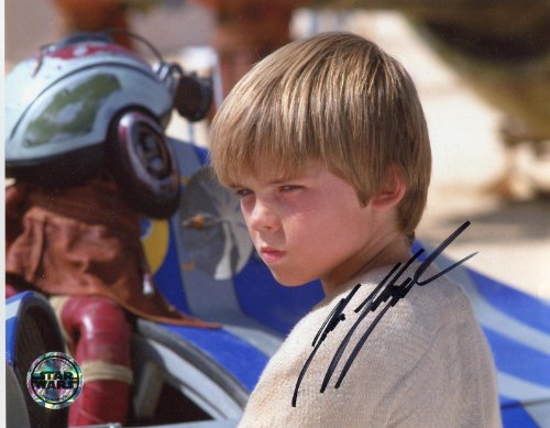 Jake Lloyd Signed / Autographed Anakin skywalker Star Wars 8x10 glossy Photo. Includes FANEXPO Certificate of Authenticity and Proof. Entertainment, Autograph Original. Young Darth Vader from Star League Sports
