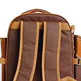 APOLLO WALKER Picnic Backpack for 4 with Cooler