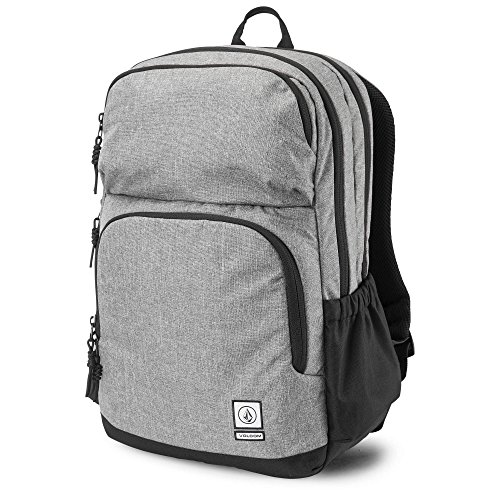 Volcom Embroidered Backpack - Volcom Men's Roamer Backpack, black grey, One Size Fits All