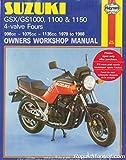 H737 Suzuki GSX GS1000 1100 1150 1980-1988 Haynes Motorcycle Repair Manual