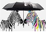 GKRY Fashion Art Umbrella/Windproof Travel Umbrellas/Folding Umbrella/for Business and Travels/SPF 190+ SUN RAIN Umbrella/RAIN Umbrella The ultra fine umbrella blue sky.