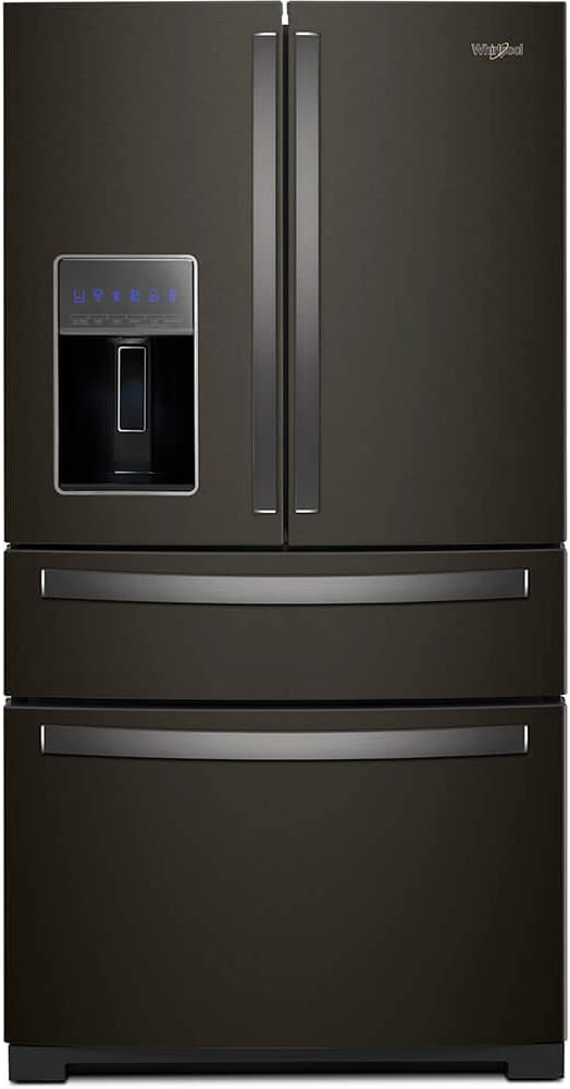 Whirlpool WRX986SIHV 26 Cu. Ft. Black Stainless 4 Door French Door Refrigerator