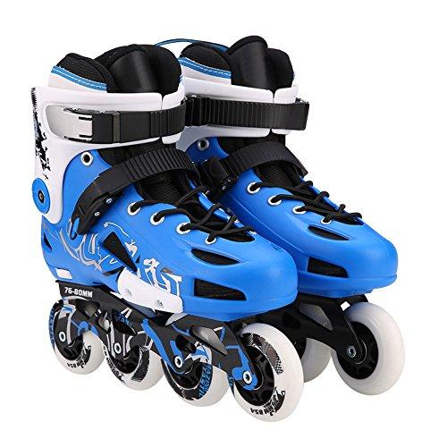 問題人形分類Optimal レディース メンズ インラインスケート スタイリッシュ ローラーブレード セーフ インライン ローラースケート 大人 ユース用