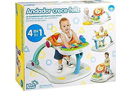 PETIT PLANET Andador Crece Feliz: Amazon.es: Juguetes y juegos