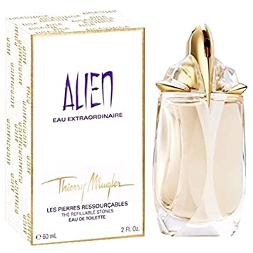 Alien Eau Extraordinaire By Thierry Mugler New EAU De Toilette Spreay Refillable 60ml 2.0 Fl.oz