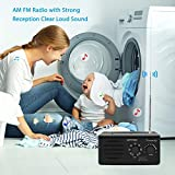 DreamSky AM FM Radio Portable with Great
