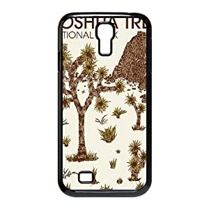 Samsung Galaxy S4 9500 Cell Phone Case Black_JOSHUA TREE NATIONAL PARK Oqeke