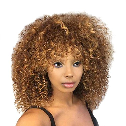 Baomabao_Wig Wig,Baomabao Women Long Black Front Hairstyle Synthetic Hair Wigs For Black -