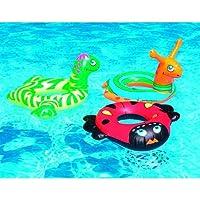 Swimline 24 in. Assorted Animal Head Ring Pool Float Deals